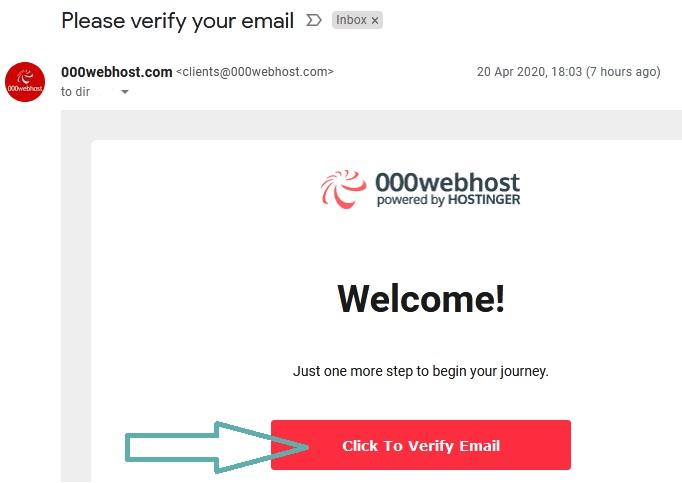 انشاء موقع علي 000webhost